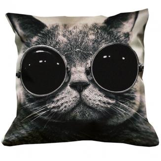almofada gato oculos 3463