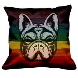 almofada bulldog colors 3468