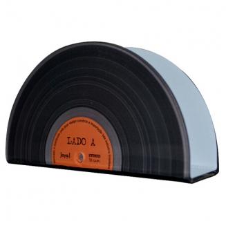 porta guardanapo acrilico vinil laranja 6082