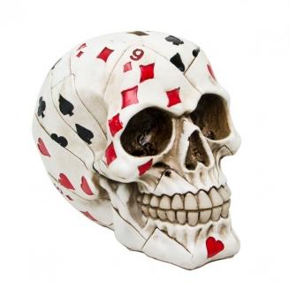 cofre caveira poker 5174