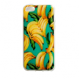 capa iphone 55s bananas 5384