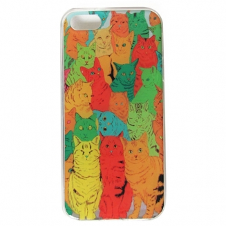 capa iphone 55s gatos 5401