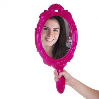 espelho princesa rosa 5507