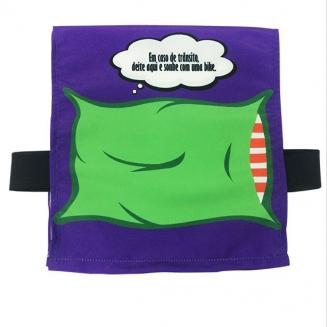 capa banco de carro travesseiro 6997