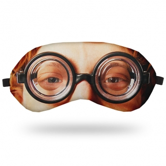 mascara de dormir oculos nerd 5617