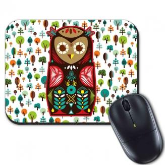 mouse pad coruja 5699