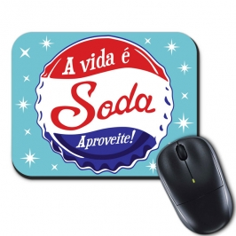 mouse pad a vida e soda 5710