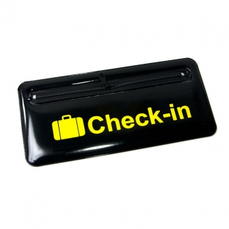 bolsinha para passagem check in 5786