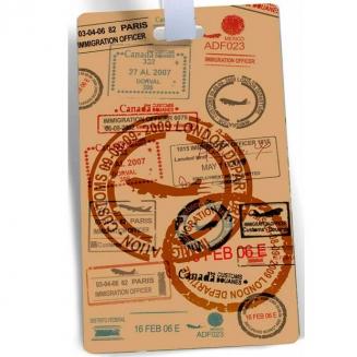 etiqueta de mala stamps 5811