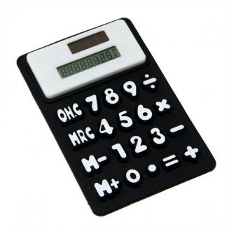 calculadora imantada preta 5843