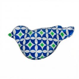 peso papel pomba azul 5902