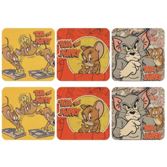 porta copos tom jerry 6pcs 6503