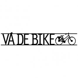 frase de parede va de bike 6623