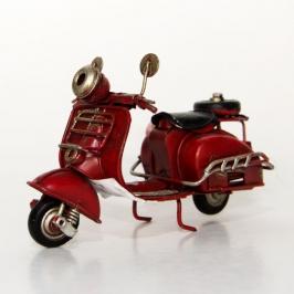 miniatura motocicleta vermelha 7084