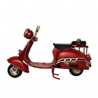 miniatura motocicleta vermelha 7083