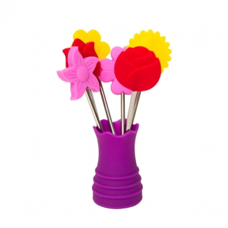 espeto para petisco flores 7143