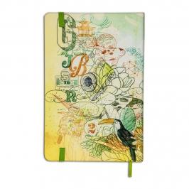 caderneta grande jardim botanico rj 7264