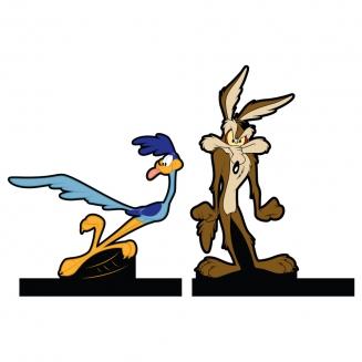 aparador de livro coyote x papa leguas 7391