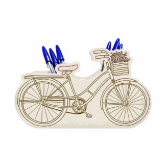 porta canetas bicicleta retro 7452