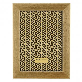 porta retrato dourado escovado 20x25cm 7558