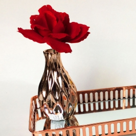 vaso solitario cobre forma um 7564