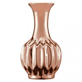 vaso solitario cobre forma tres 7569