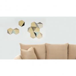 hexagonos de madeira hexy 7618