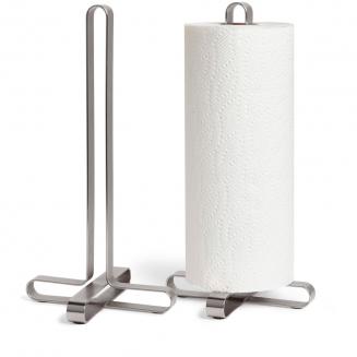 suporte para papel toalha pulse prata 7637