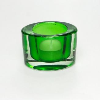 castical oval vidro verde 7680