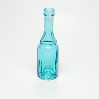 vaso mini solitario azul 7694