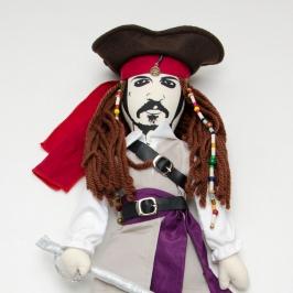 boneco jack sparrow piratas do caribe 7753