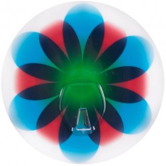 cabideiro sem furo pyno flor azul 7793