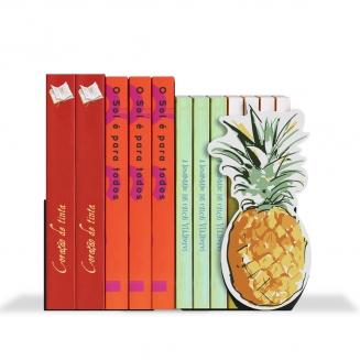 aparador de livro abacaxi 7829