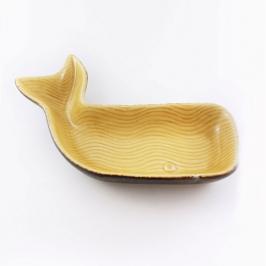 petisqueira baleia ceramica media 7882