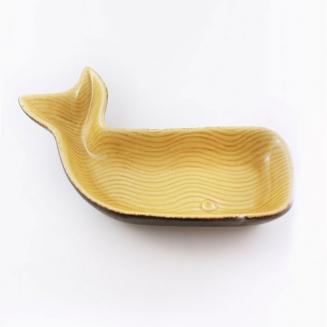 petisqueira baleia ceramica media 7881