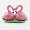saleiro e pimenteiro ceramica flamingo 7889