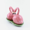 saleiro e pimenteiro ceramica flamingo 7890