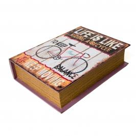 caixa livro bike pequena 7913