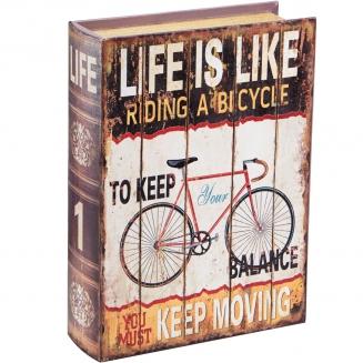 caixa livro bike pequena 7912