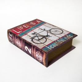 caixa livro bike media 7917