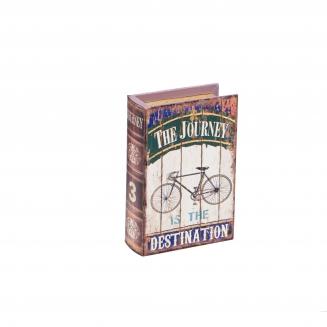 caixa livro bike grande 7919