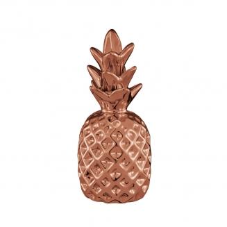 abacaxi decorativo cobre pequeno 7927