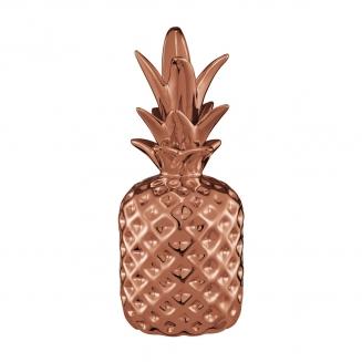 abacaxi decorativo cobre medio 7928