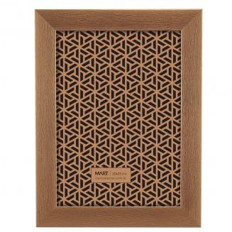 porta retrato cobre escovado 20x25cm 8130