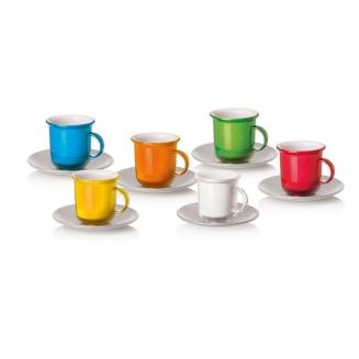 conjunto xicaras cafe luva com pires 8131