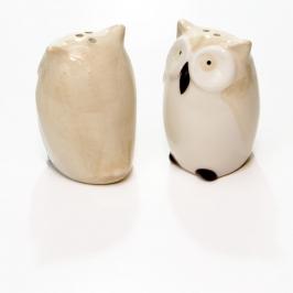 saleiro e pimenteiro coruja 8150