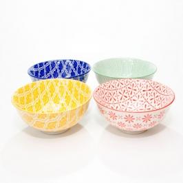 conjunto c 4 bowls primavera 8152