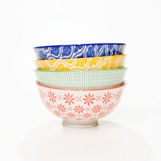 conjunto c 4 bowls primavera 8151