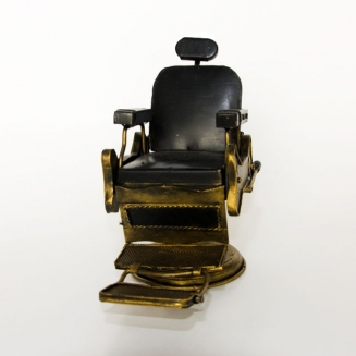 miniatura cadeira de barbeiro retro 4115