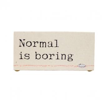 bloco normal is boring 4206